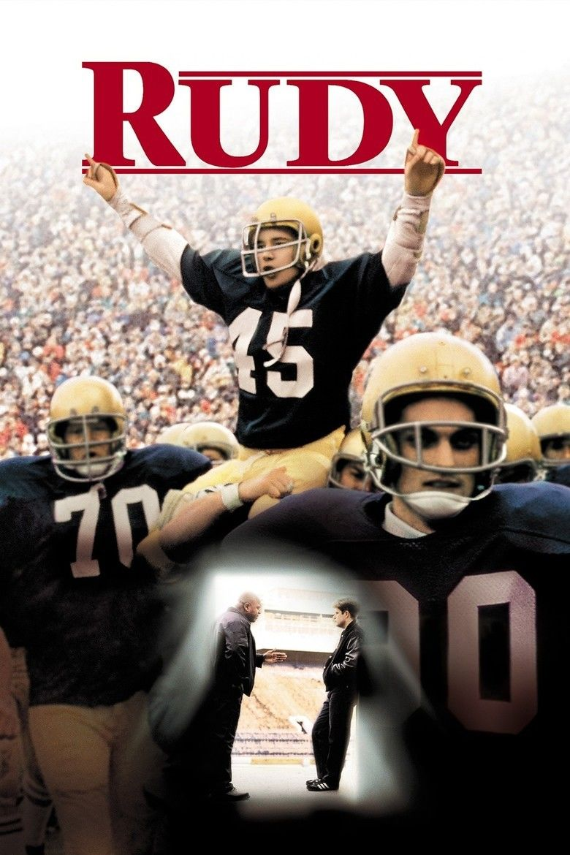 Rudy (film) movie poster