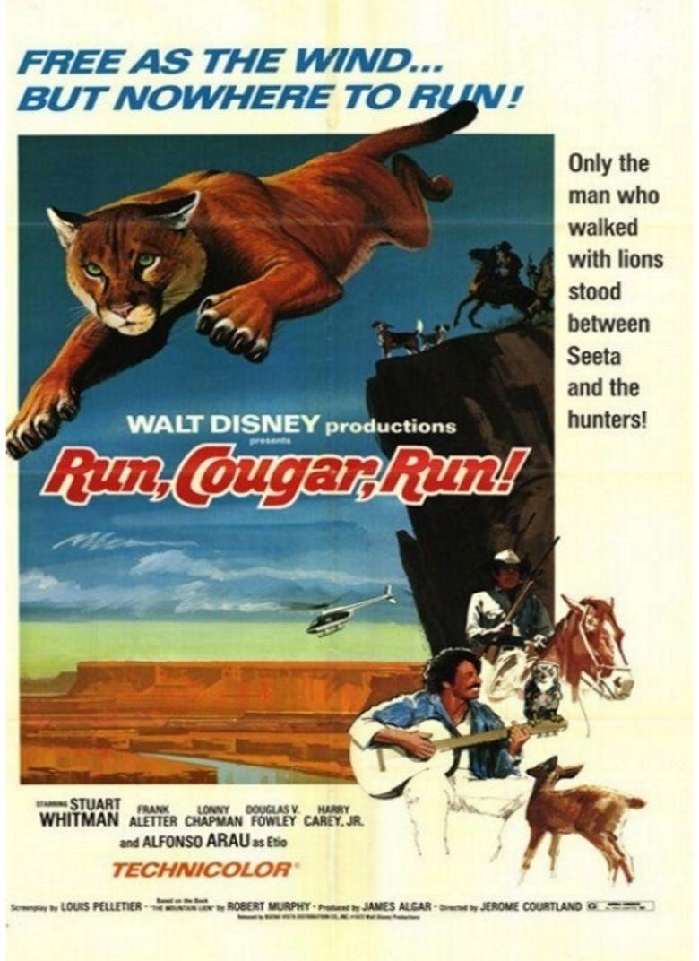 Run, Cougar, Run movie poster