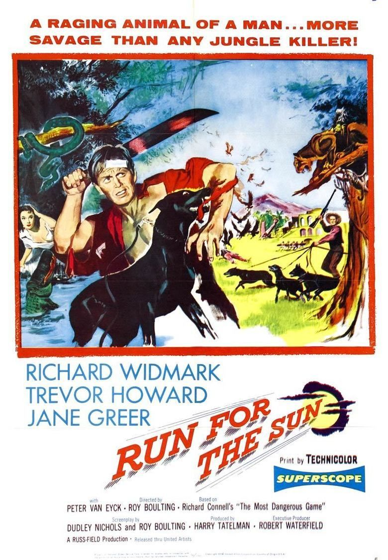 Run for the Sun movie poster