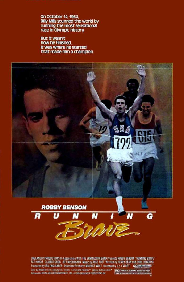 Running Brave movie poster