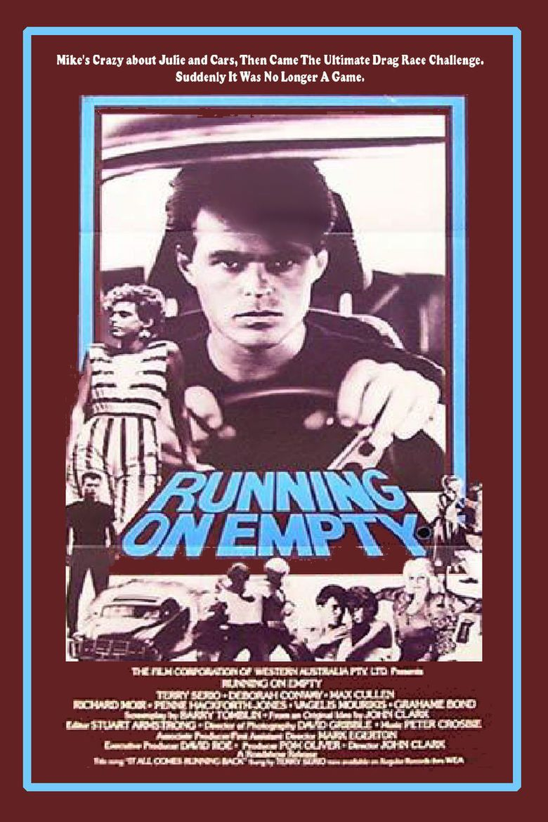 Running on Empty (1982 film) movie poster