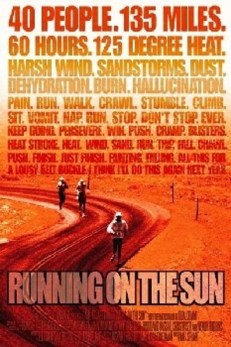 Running on the Sun: The Badwater 135 movie poster