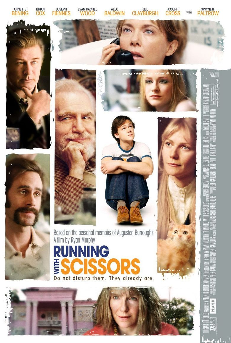 Running with Scissors (film) movie poster