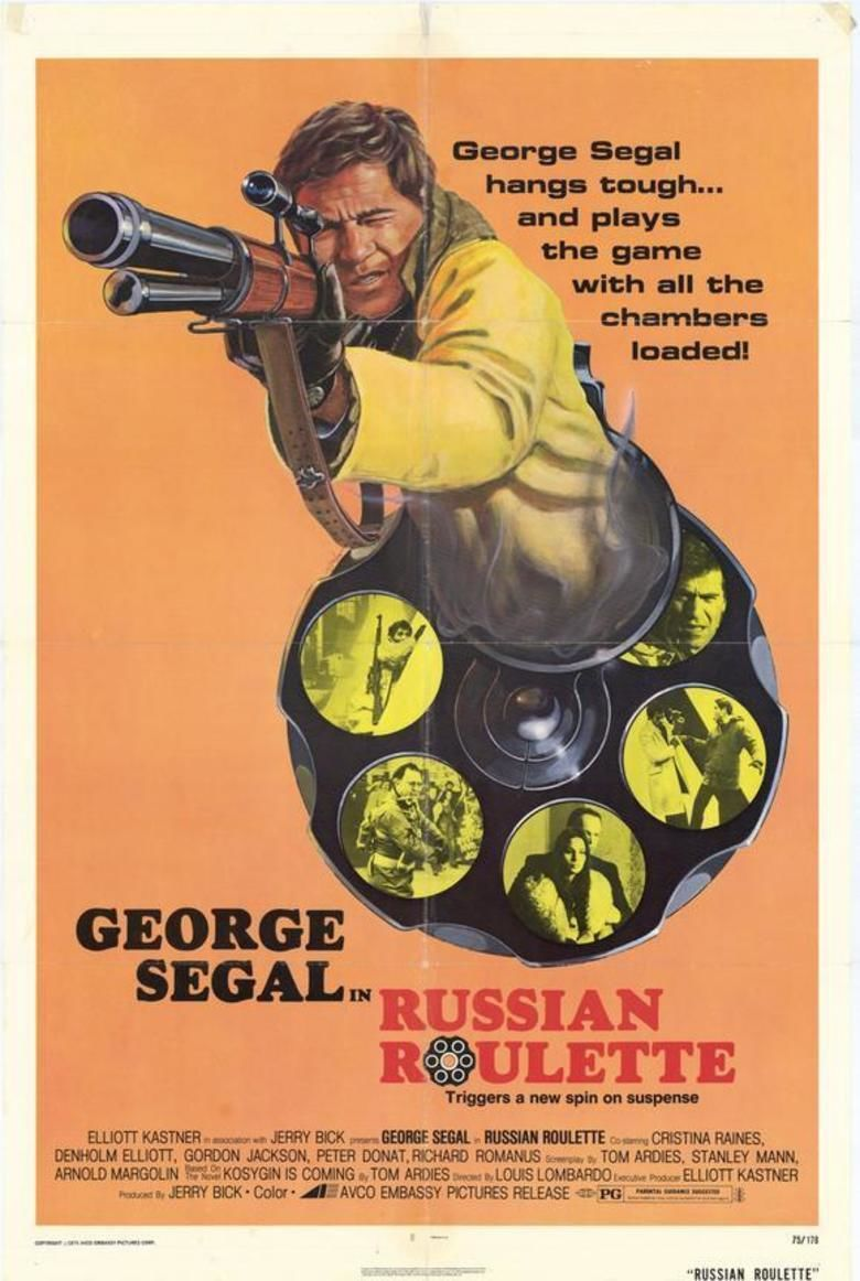 Russian Roulette (film) movie poster