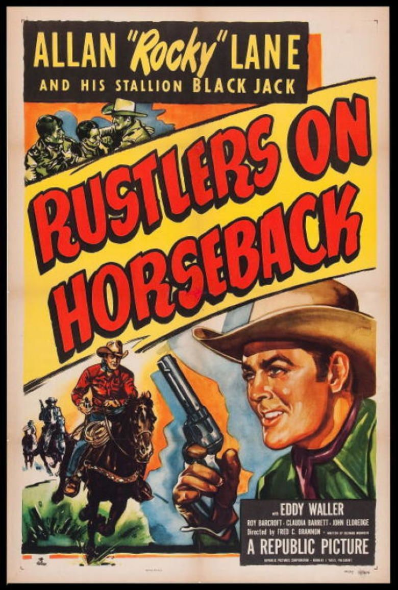 Rustlers on Horseback movie poster