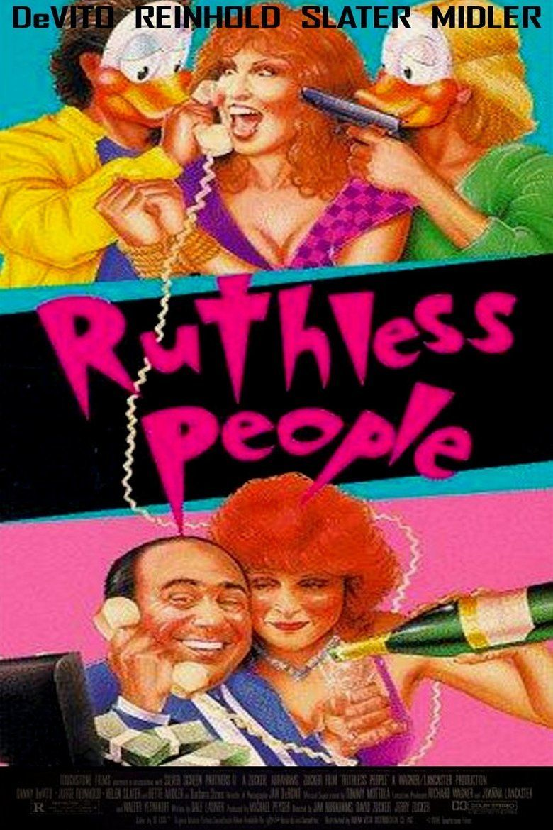 Ruthless People movie poster