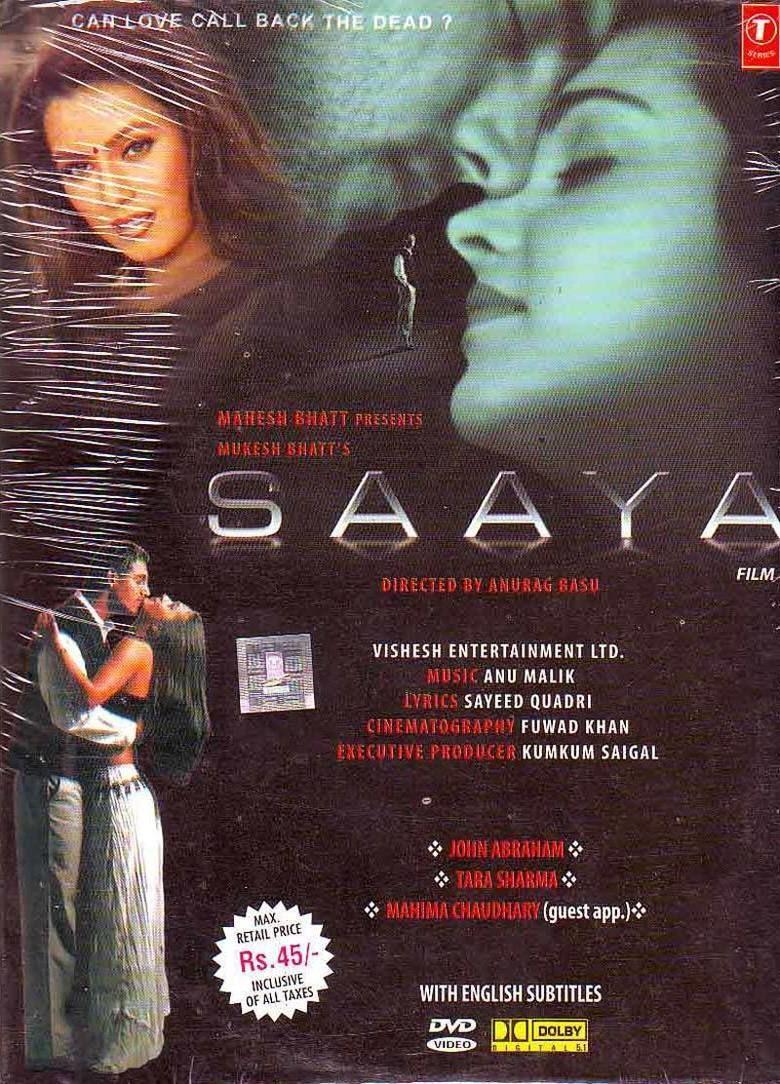 Saaya (2003 film) alchetron, the free social encyclopedia.