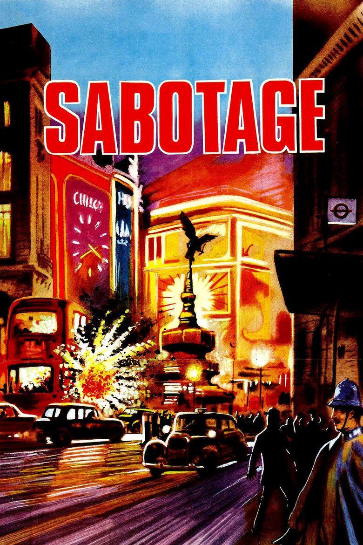 Sabotage (1936 film) movie poster