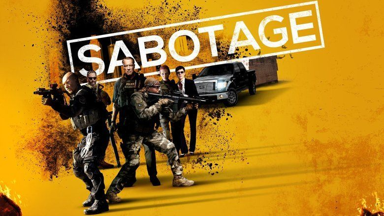Sabotage (2014 film) movie scenes