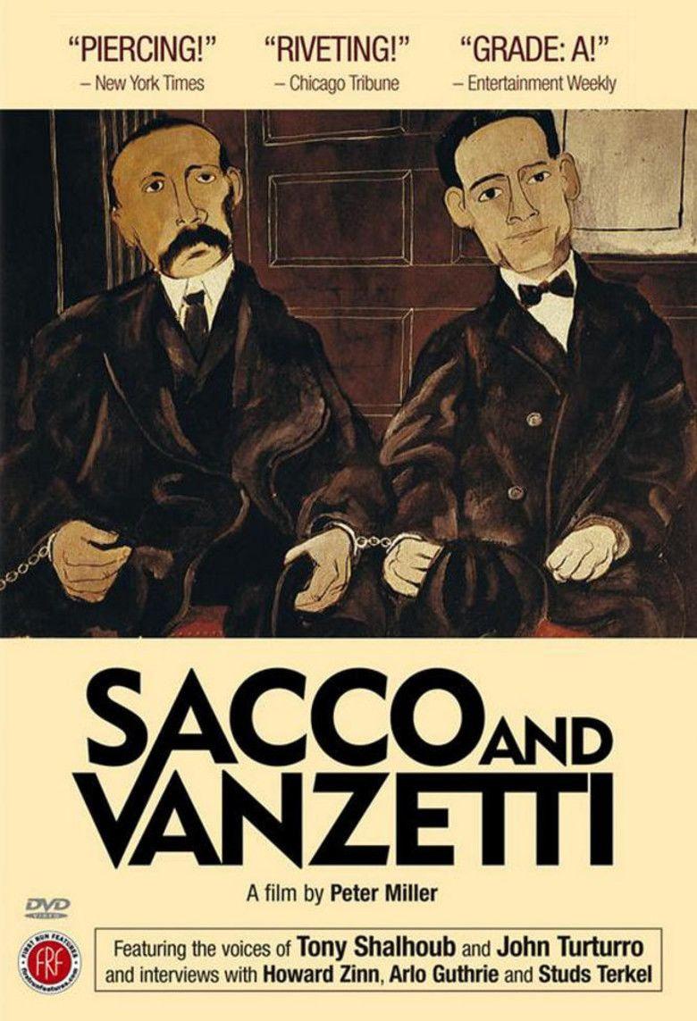 Sacco and Vanzetti (film) movie poster
