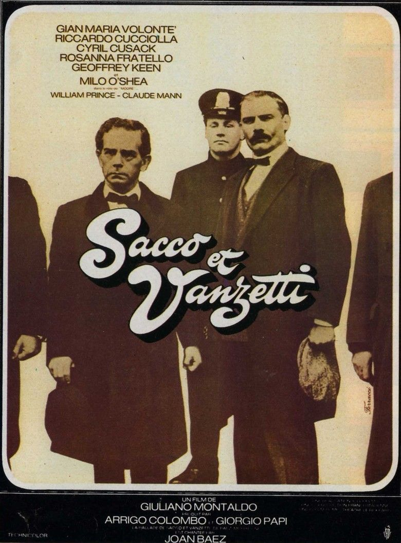 Sacco e Vanzetti movie poster