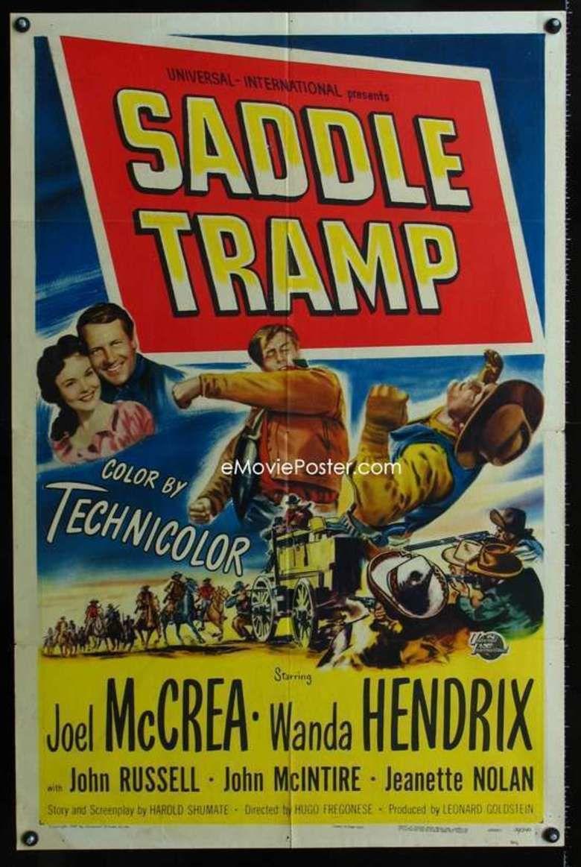 Saddle Tramp (film) movie poster