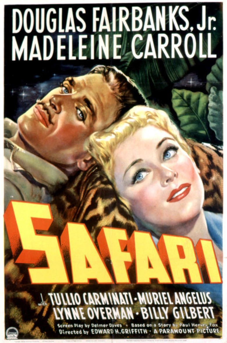 Safari (1940 film) movie poster