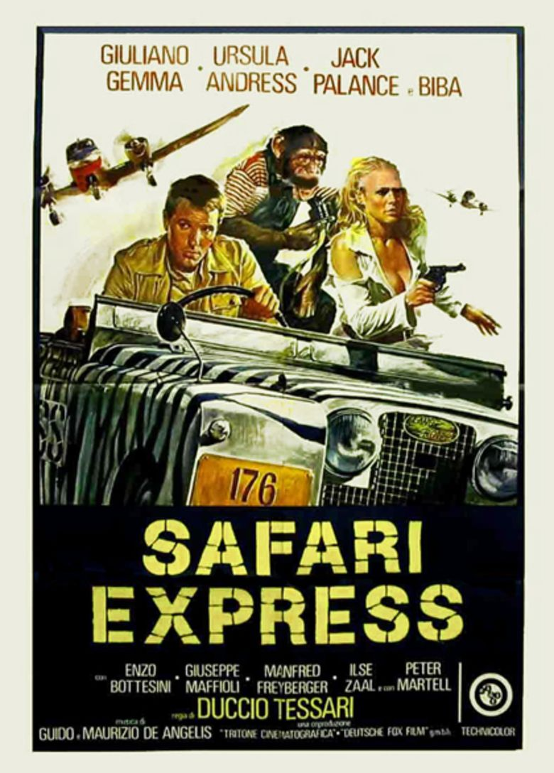 Safari Express movie poster
