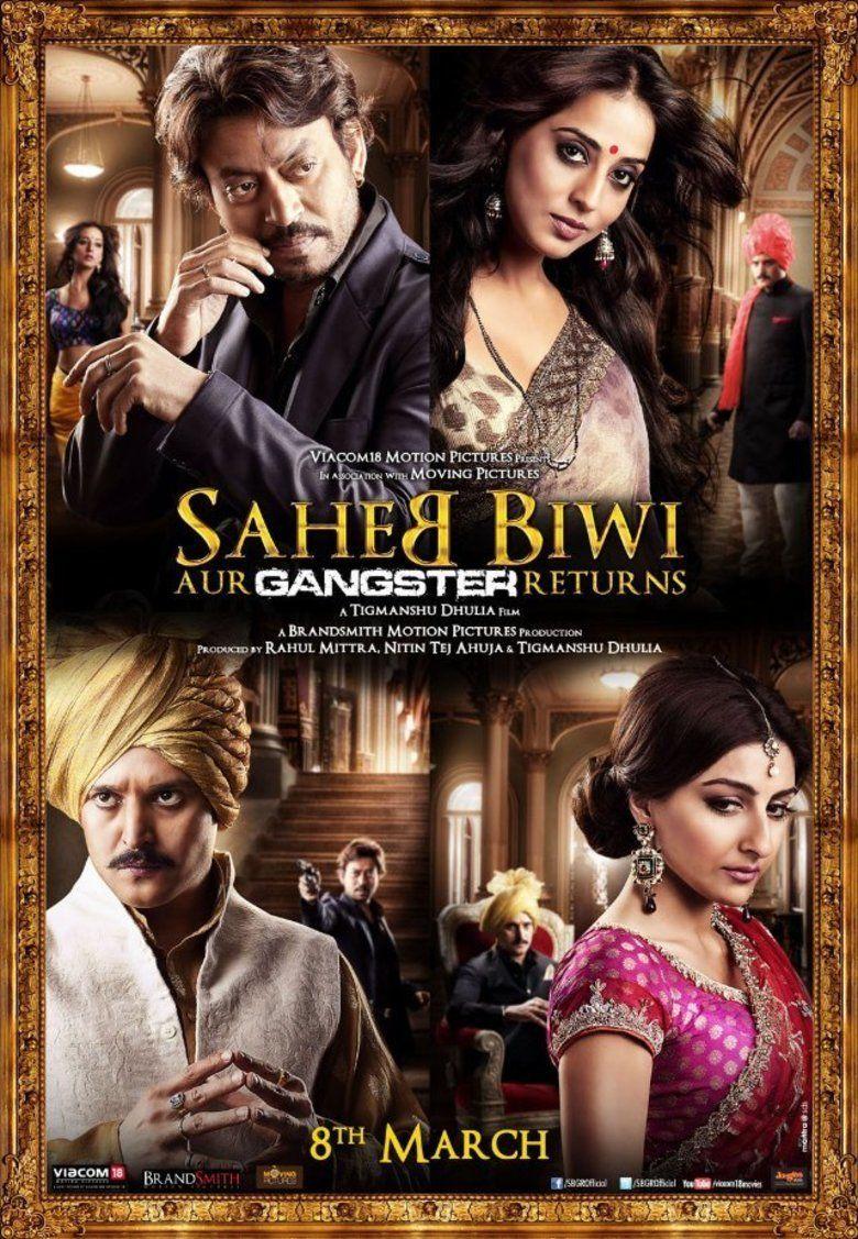 Saheb, Biwi Aur Gangster Returns movie poster