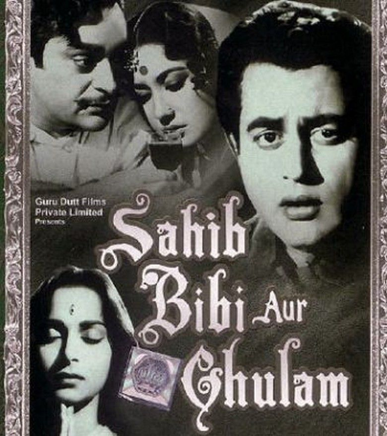 Sahib Bibi Aur Ghulam movie poster