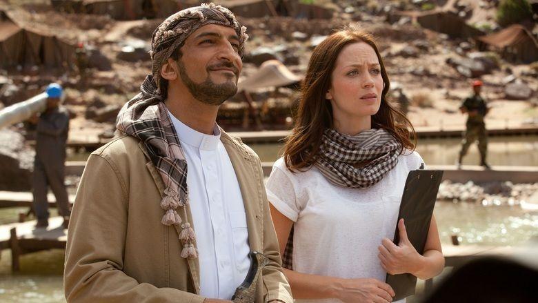 Salmon Fishing in the Yemen movie scenes