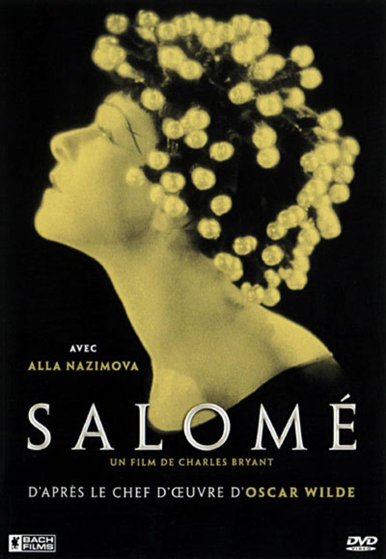 Salome (1923 film) movie poster