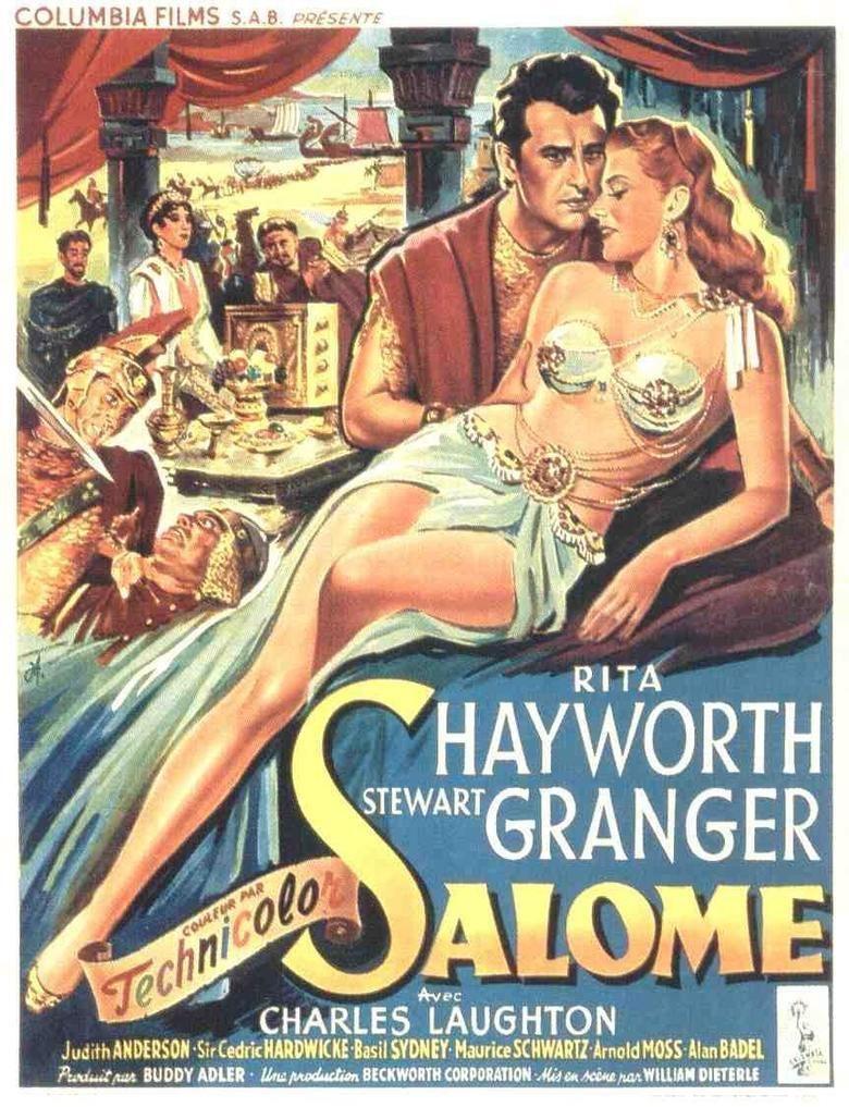 Salome (1953 film) movie poster