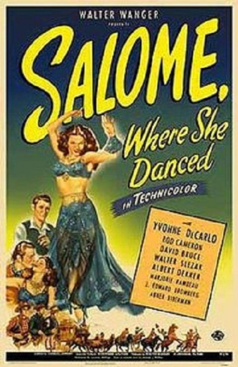 Salome, Where She Danced movie poster
