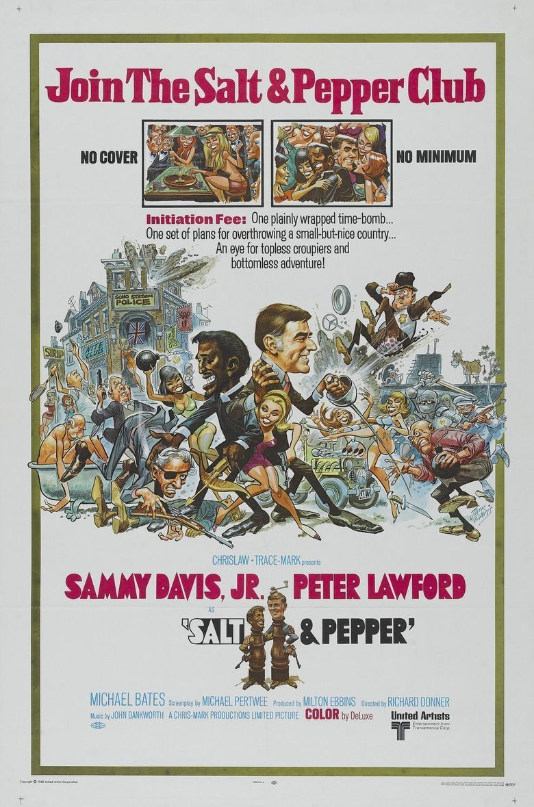 Salt and Pepper (film) movie poster