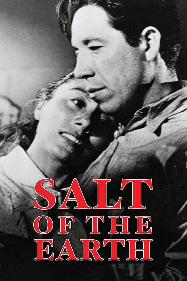 Salt of the Earth (1954 film) movie poster