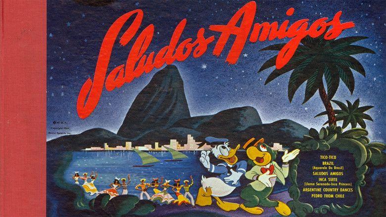 Saludos Amigos movie scenes