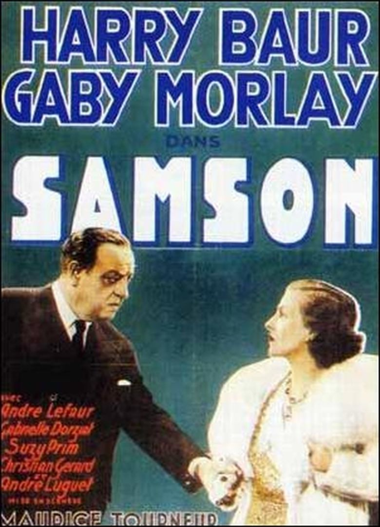 Samson (1936 film) movie poster