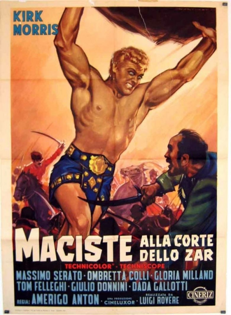 Samson vs the Giant King movie poster