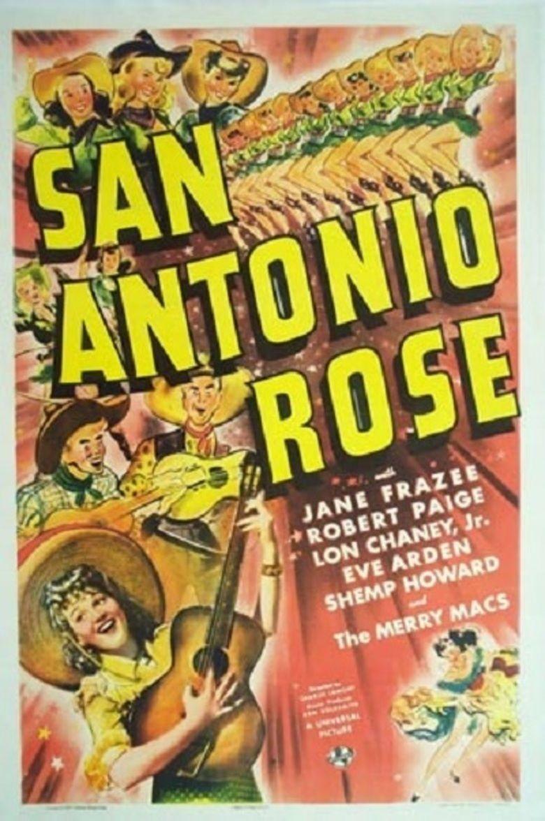 San Antonio Rose (film) movie poster