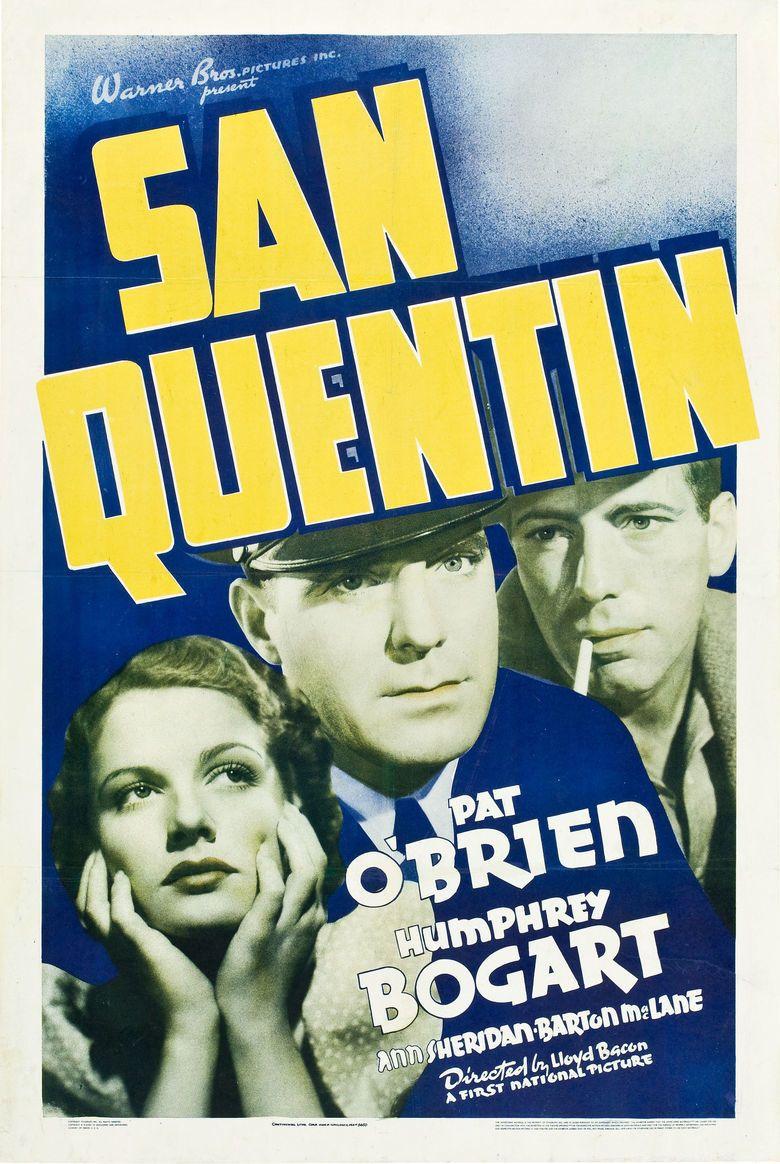San Quentin (1937 film) movie poster