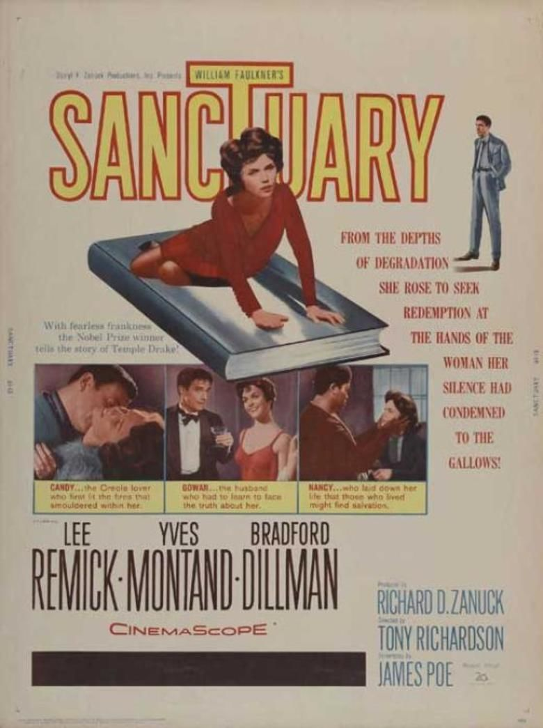 Sanctuary (1961 film) movie poster