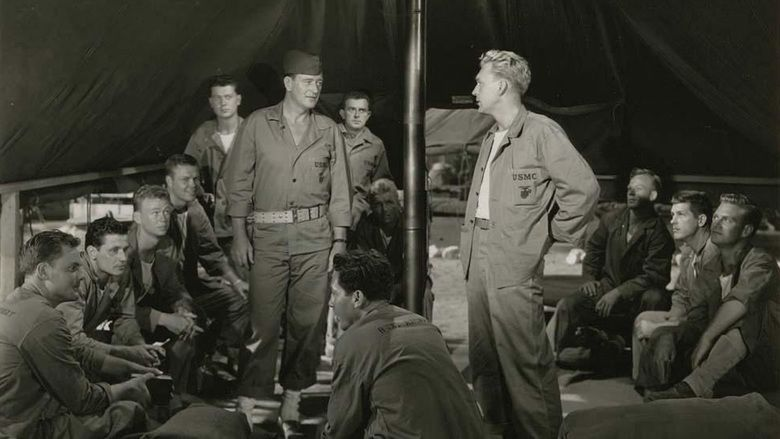Sands of Iwo Jima movie scenes