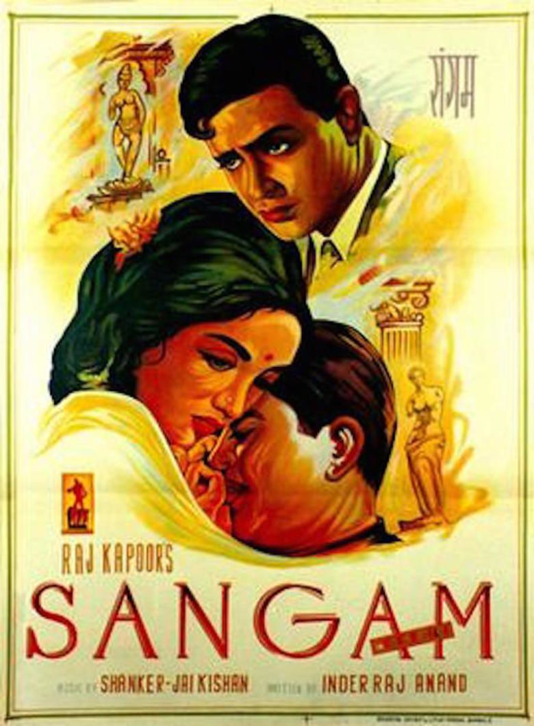 Sangam (1964 Hindi film) movie poster