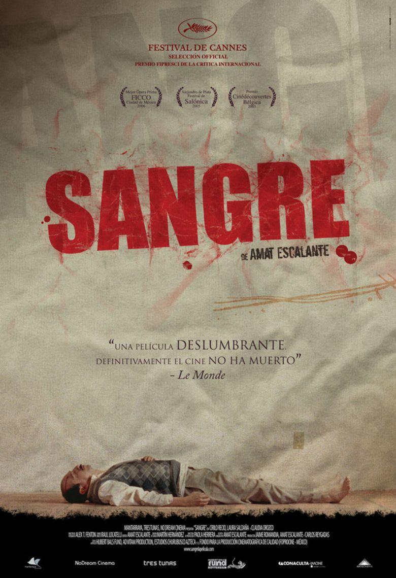 Sangre (film) movie poster