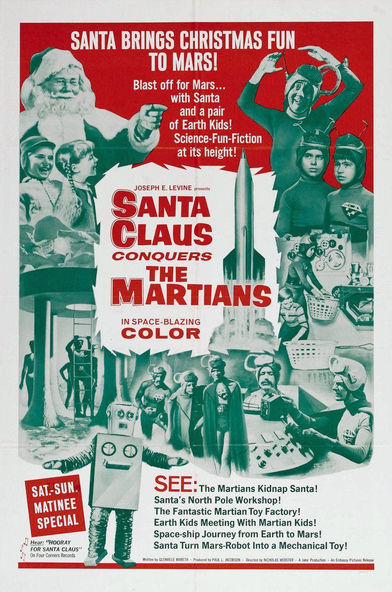 Santa Claus Conquers the Martians movie poster