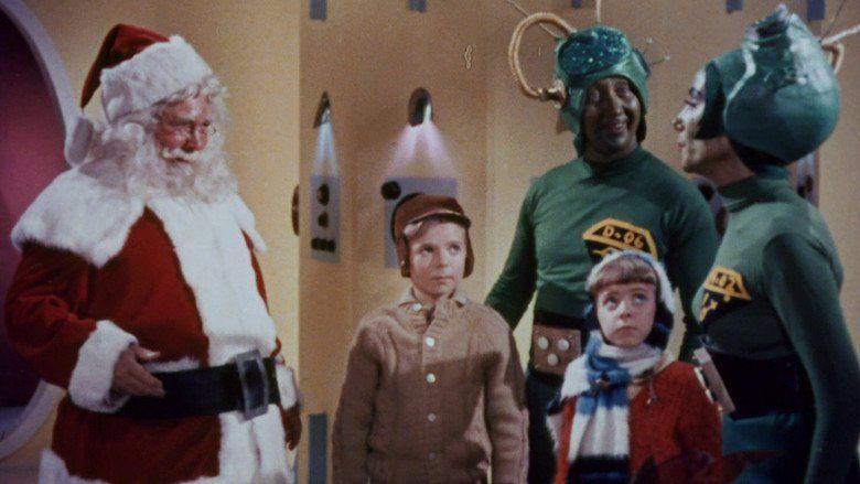 Santa Claus Conquers the Martians movie scenes