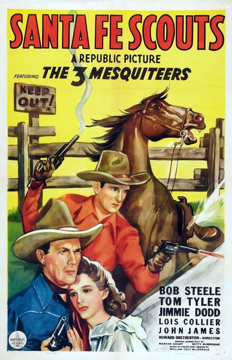 Santa Fe Scouts movie poster