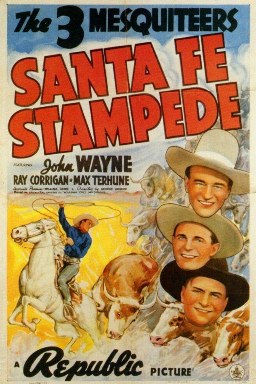 Santa Fe Stampede movie poster