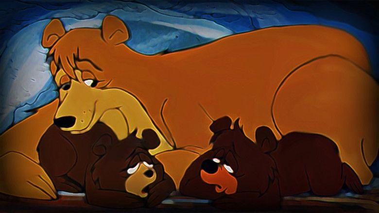 Santa and the Three Bears movie scenes
