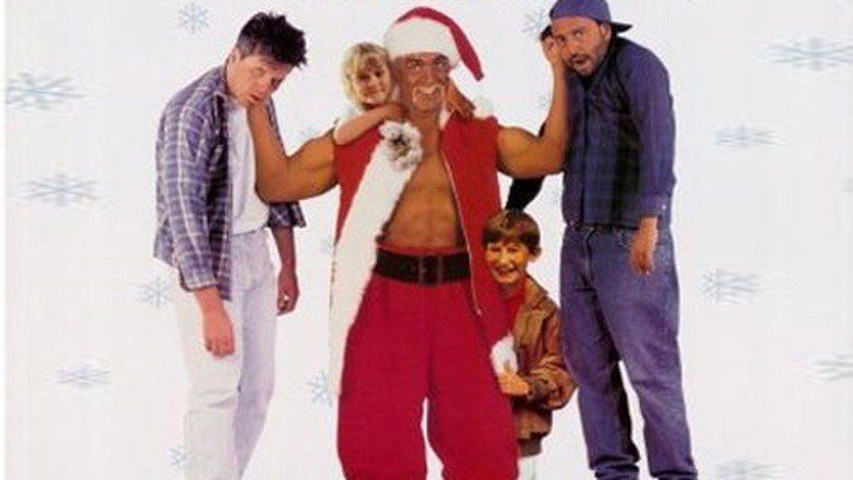 Santa with Muscles movie scenes