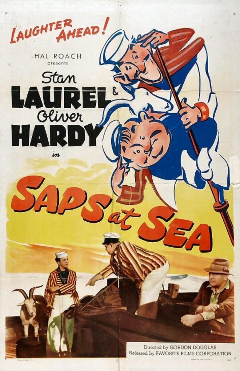 Saps at Sea movie poster