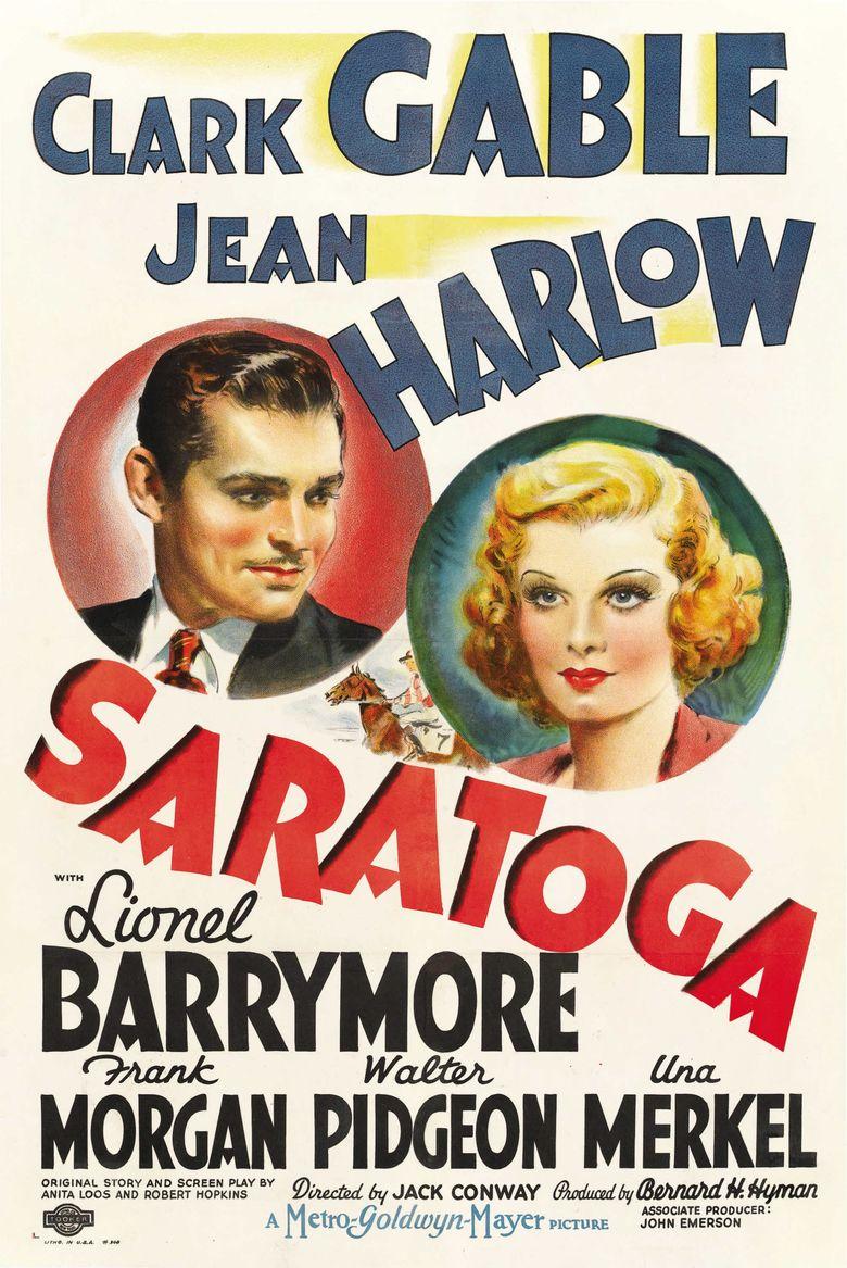 Saratoga (film) movie poster