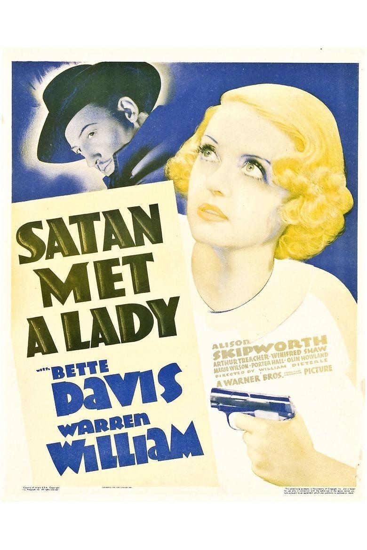 Satan Met a Lady movie poster