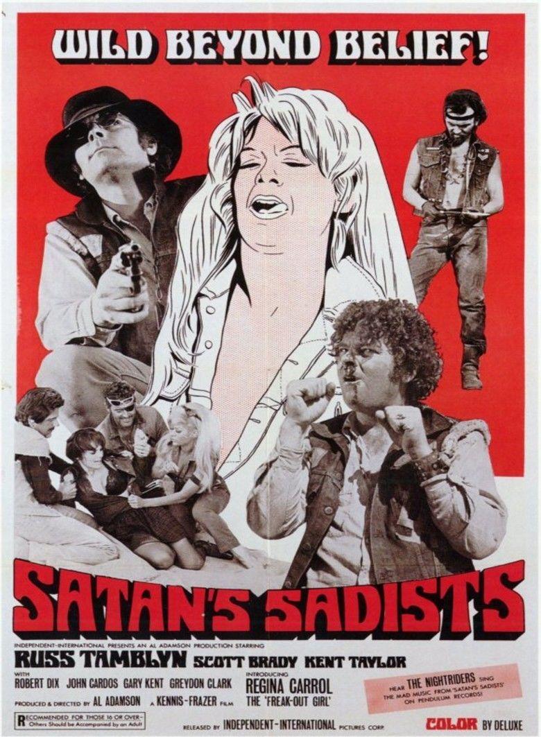 Satans Sadists movie poster