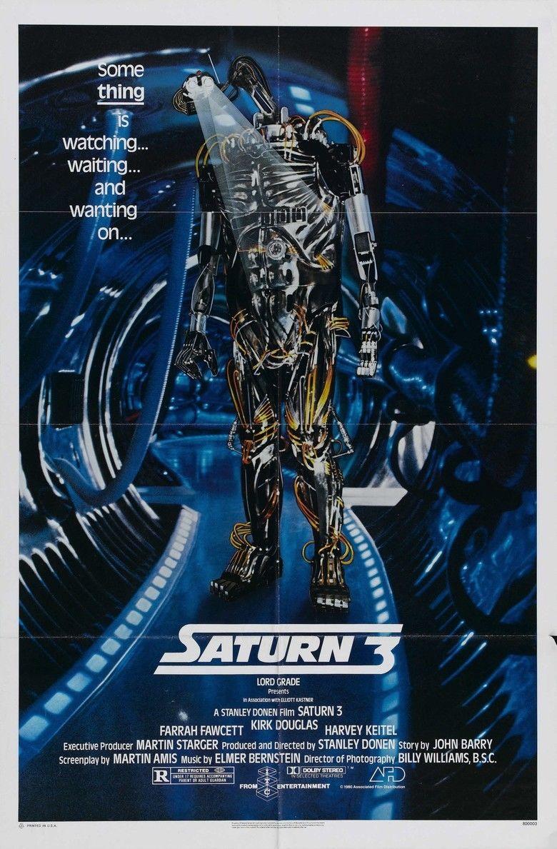Saturn 3 movie poster