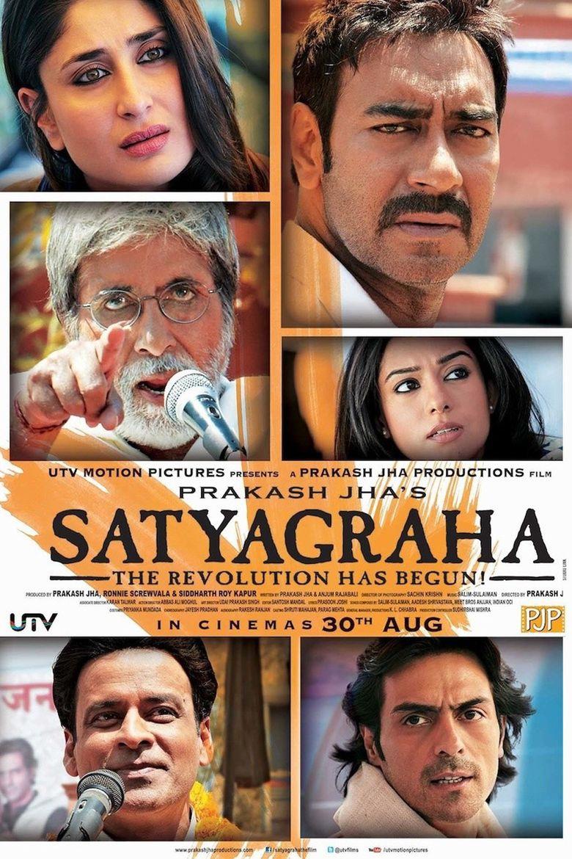 Satyagraha (film) movie poster