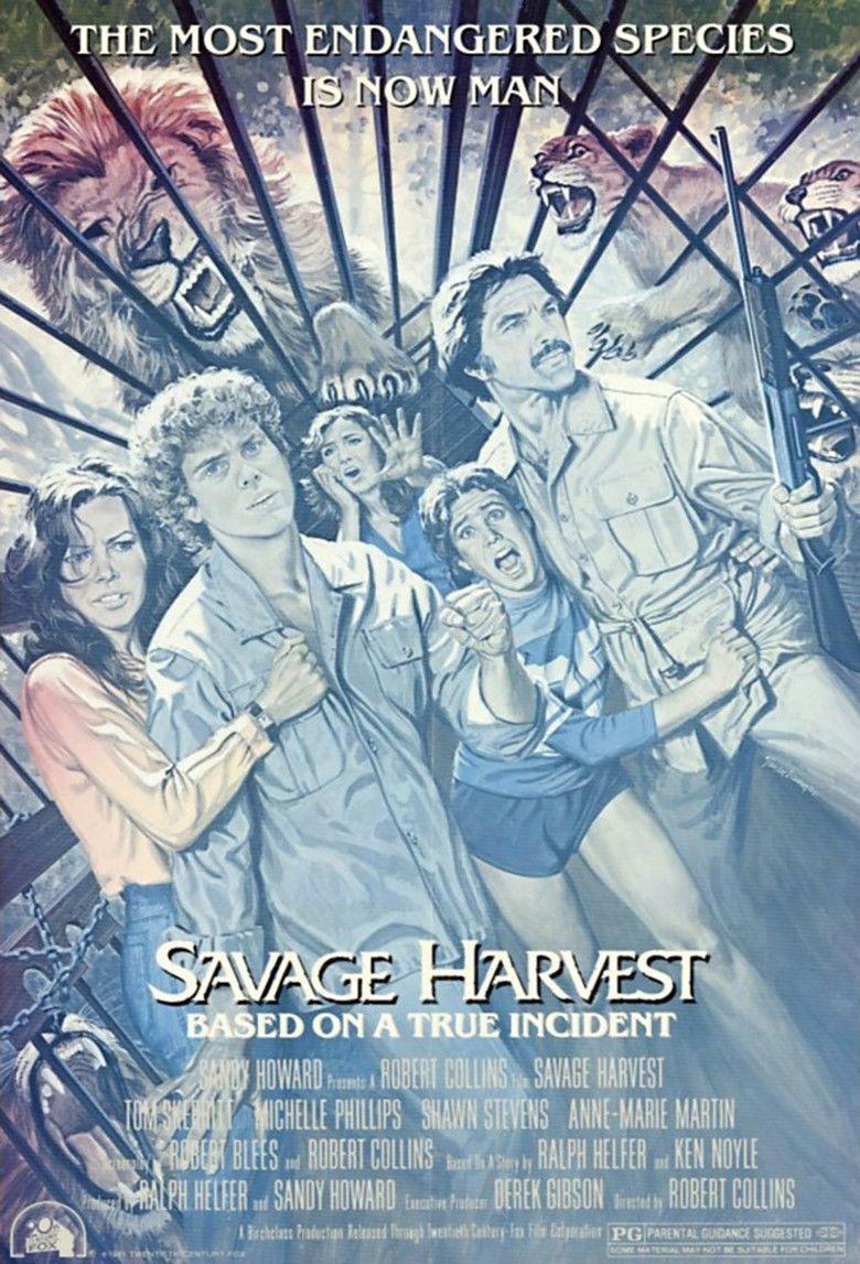 Savage Harvest (1981 film) movie poster