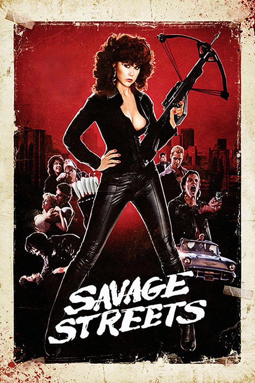 Savage Streets movie poster