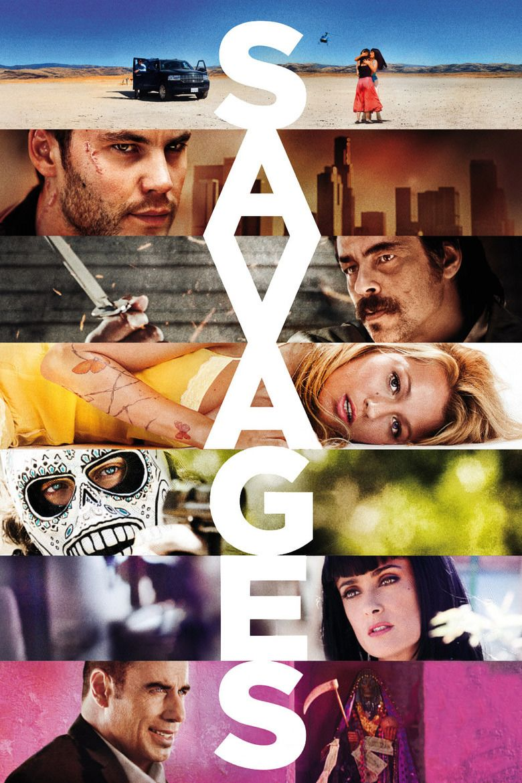 Savages (2012 film) movie poster